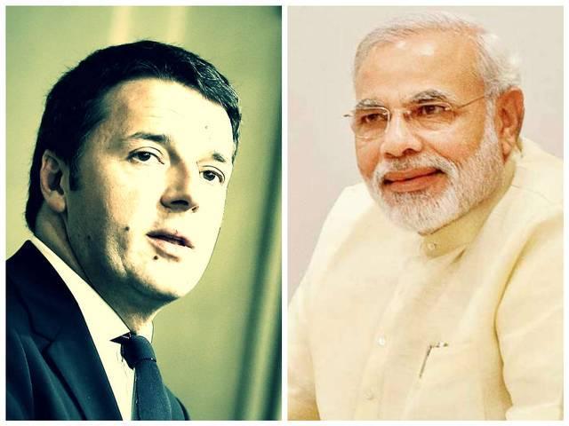 Italian PM talks to Modi over marine issue