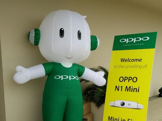Oppo launches its new camera rotation smart phone