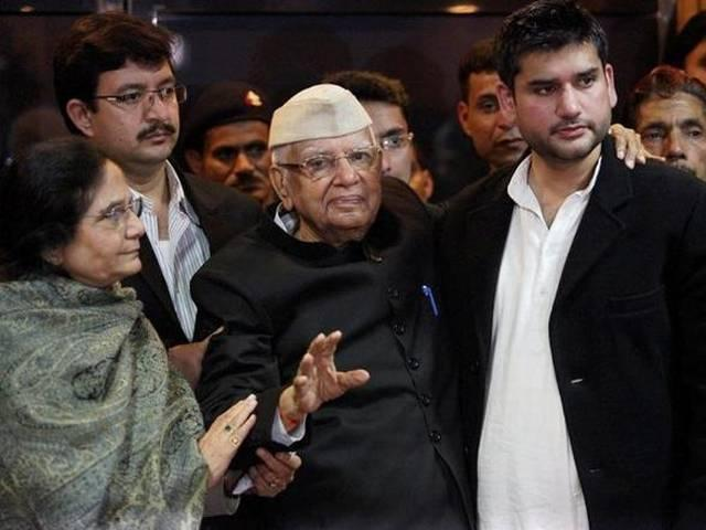 Have transferred family inheritance to Ujjwala, Rohit: Tiwari