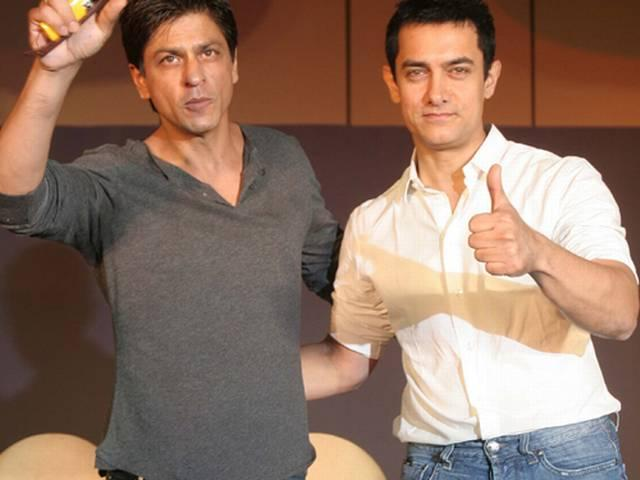 SRK jokes at Happy New Year music launch_ on pk-poster