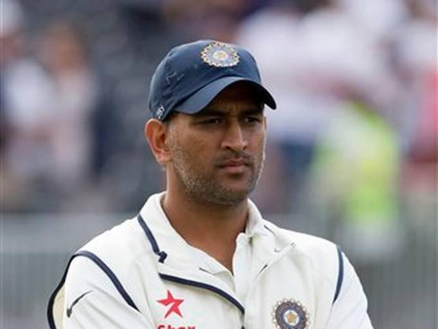 Dhoni fined with 60 percent match fee for slow over rate