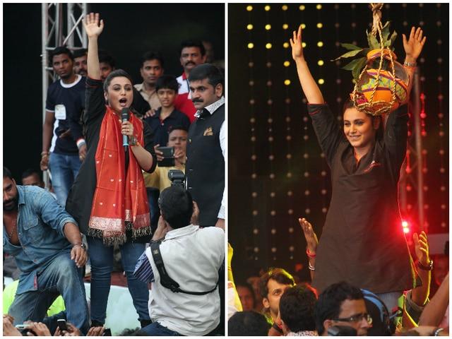 bollywood celebration of Jamnashtami