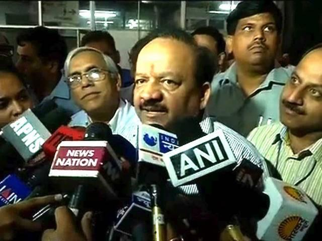Dr. Harshawardhan_Minister of Health and Family Welfare_aiims_curruption
