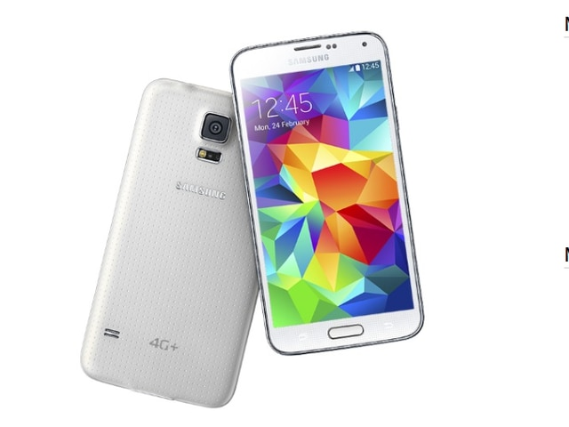 Samsung launched its new smartphone 'Galaxy S5 4G+'