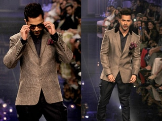 one look of Lakme fashion week grand finale