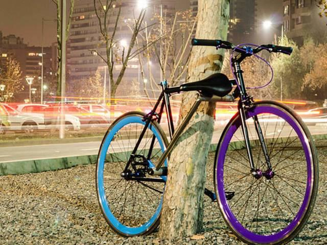 A bicycle which cant be stolen