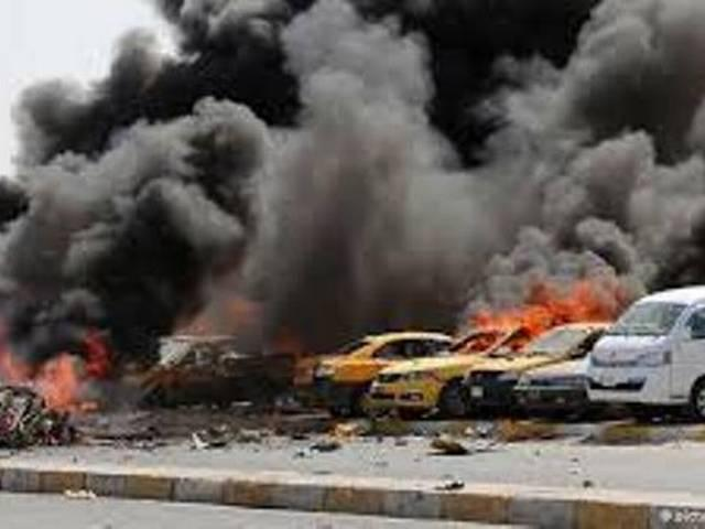 eight people have died in the bomb blast  in Iraq