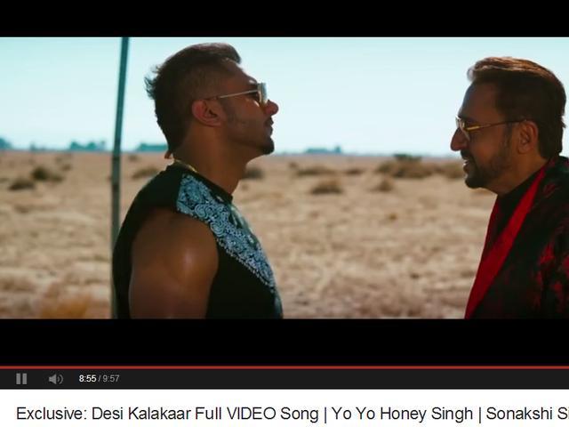 Honey Singh's new song Desi Kalakaar