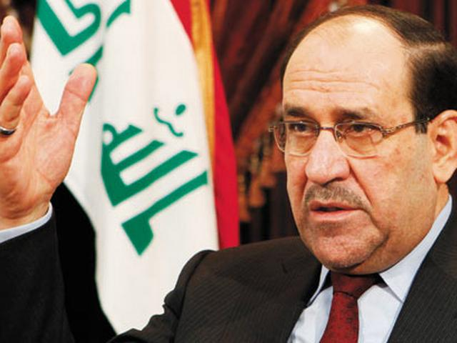 Former Iraqi PM noor al maliki requests to extend support to haider al abadi