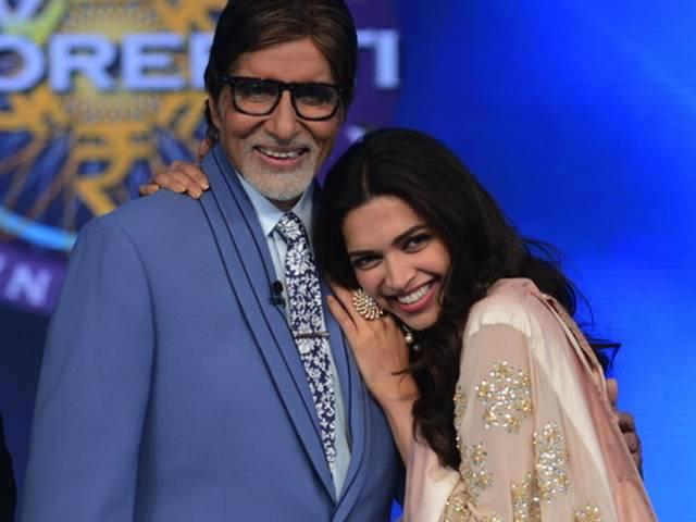 Amitabh Bachchan dance with Deepika-Arjun on set of KBC