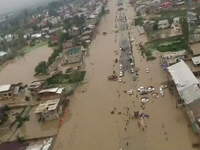 Jammu and Kashmir floods: Massive rescue operations on
