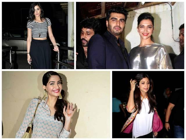 Finding fanny stars on special screening.