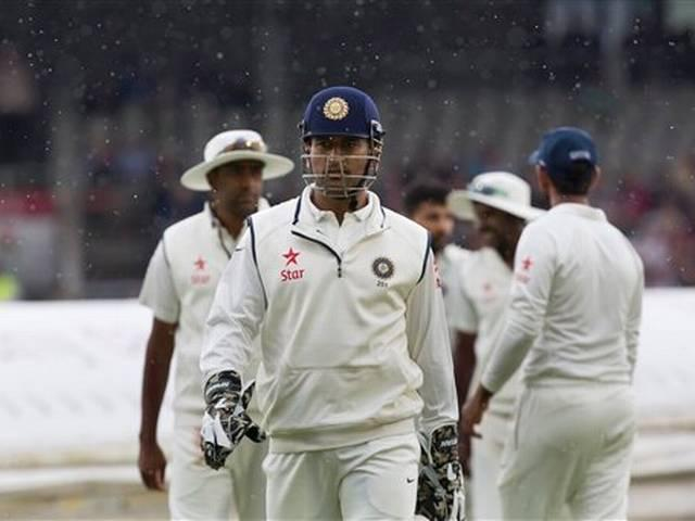 dhoni after england tour