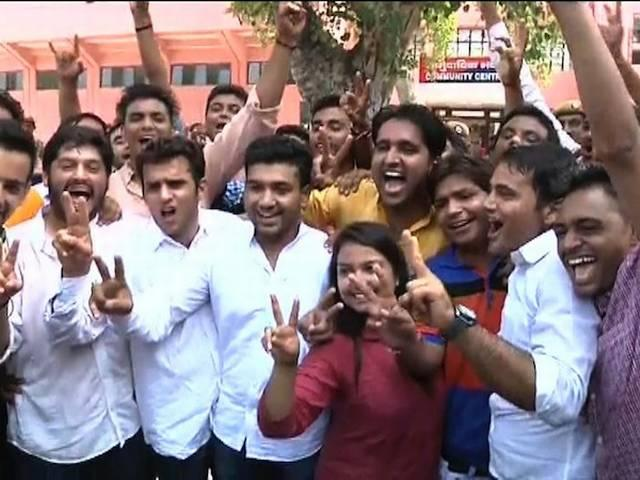 abvp wins all four seats of du students union