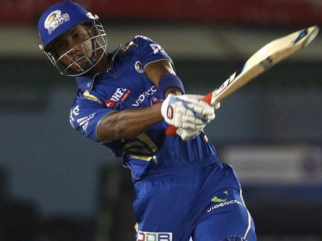 Cricket_Mumbai Indians_Champions League_Lendl Simmons_