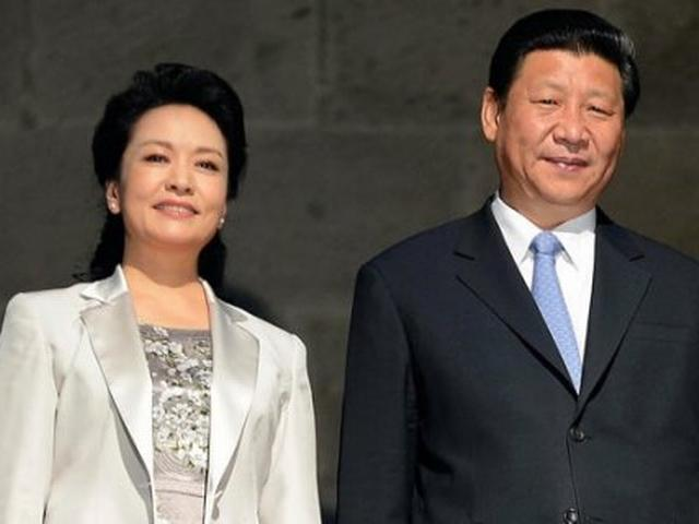 Chinese president and his wife