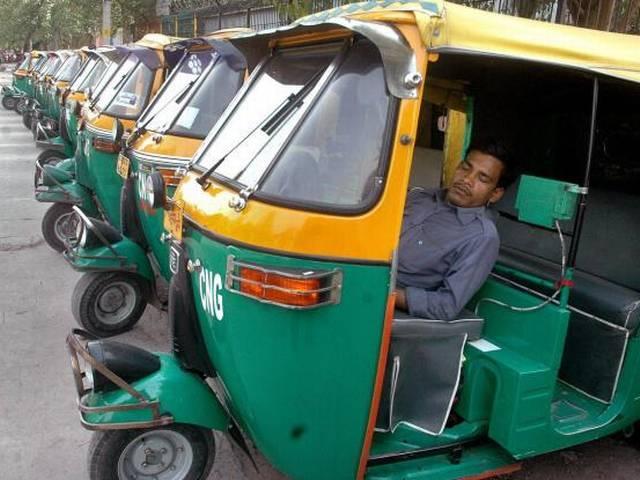 delhi auto riksha