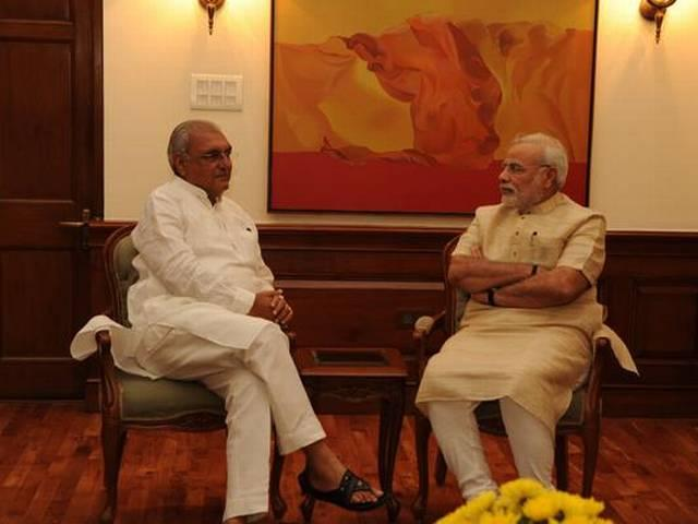 CM Hooda writes to PM Modi regarding Rice