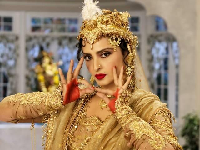 "Rekha does a Madhubala's character from ""Mughal-e-Azam in Super Nani"