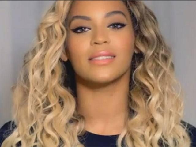 beyonce shows her pregnancy video on his music tour