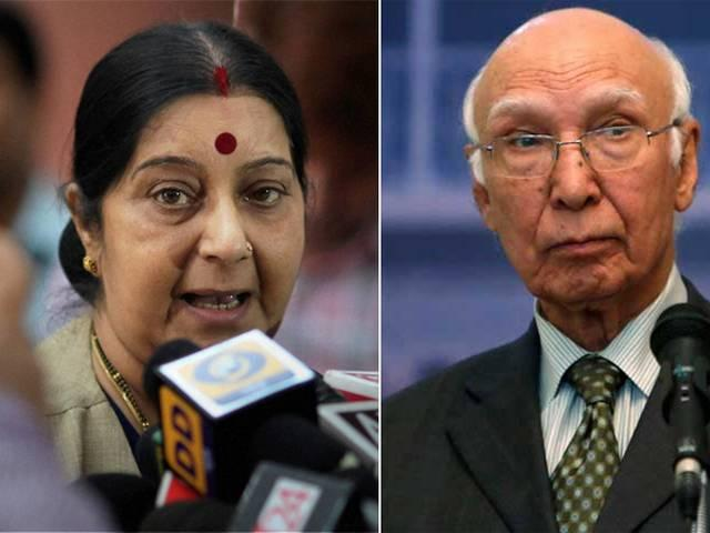 India started it, must make first move if it wants talks says sartaj aziz