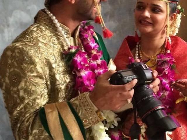 Exclucive Pics: Ajinkya rahane tied knot with Radhika