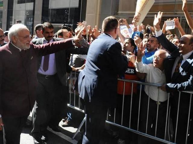US city of Columbus marks Modi's visit to America