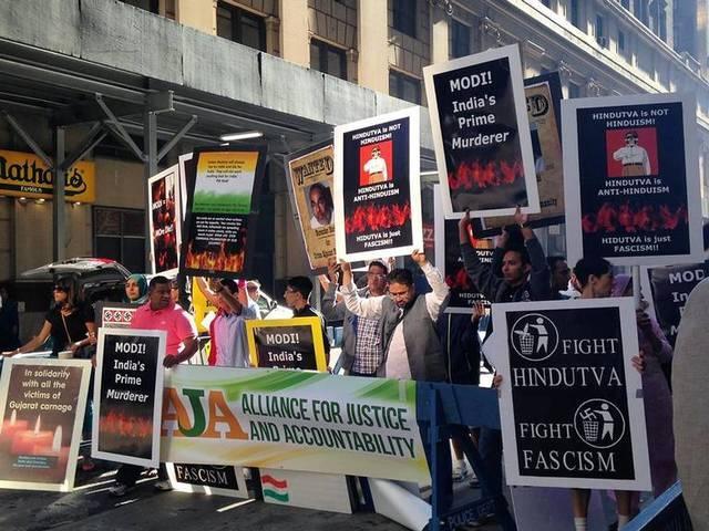 protest-against-indian-pm-narendra-modi-outside-madison-square