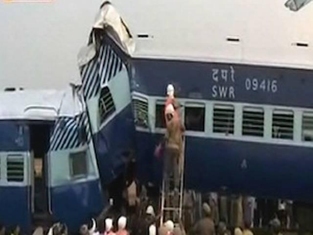 आंध्र प्रदेश के अनंतपुर में ट्रेन हादसा, 26 की मौत