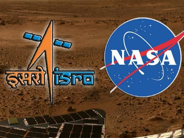 nasa isro come together to understand mars