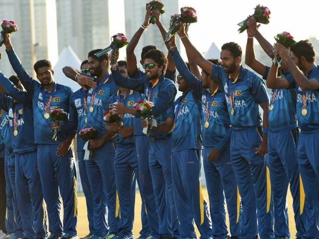 srilanka won gold