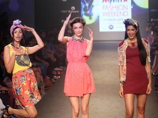 faishion's new trend in myntra faishion week