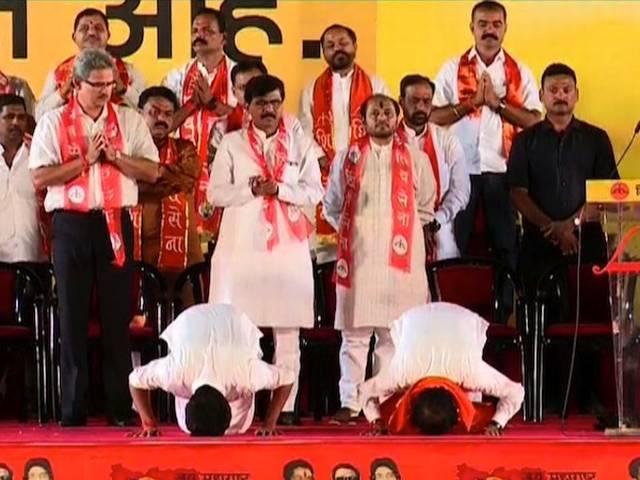 Uddhav thackeray election campaign