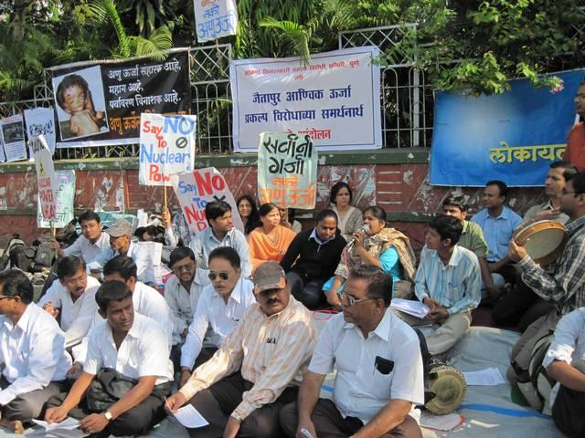 shiv sena promises to close jaitapur nuclear power plant project, if it comes to power