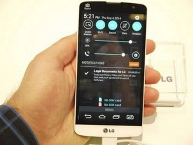 LG LAUNCHED ITS NEW SMART PHONE BELO