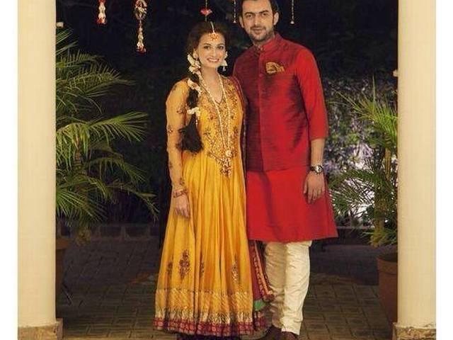 dia mirza_music ceremony_marriage