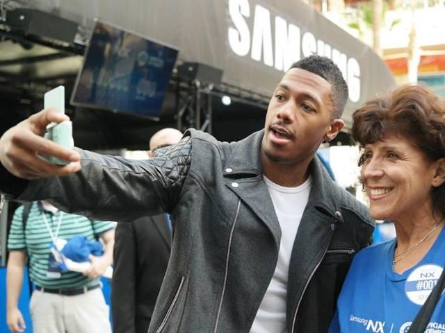 nick-cannon-selfie-record