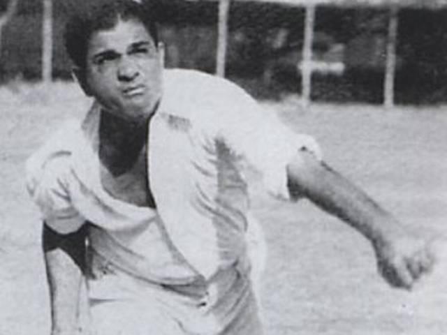 Team India_Pakistan_First Test Match_Venoo Mankad_