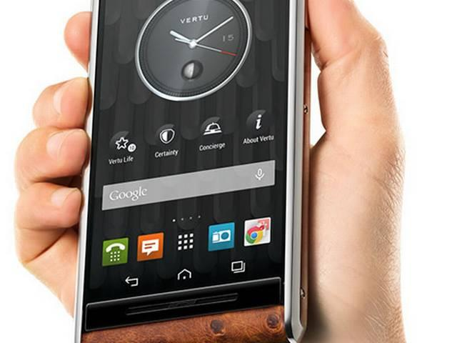Vertu's latest Aster smart phone costs just Rs 4,75,000