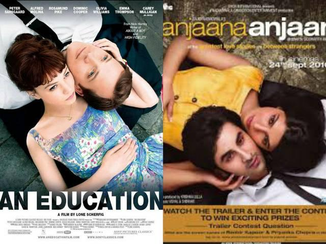 Copycat Bollywood film posters