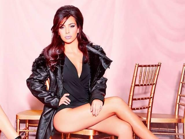 See Kim In The Kardashian Kollection Campaign