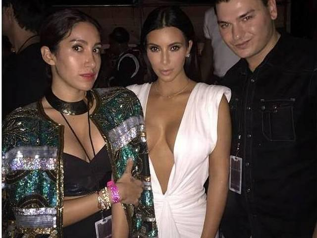 kim kardashian_night party_los vegas