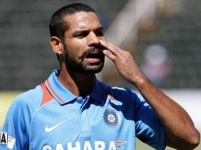 team India_Opening Stand_Shikhar Dhawan_