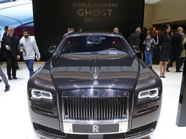 Rolls Royce Ghost Series II India launch