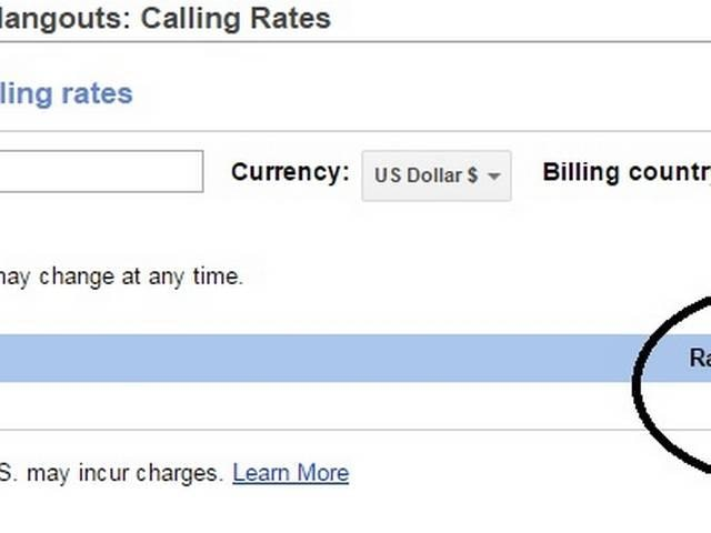 Google provide service to free calling usa and canada