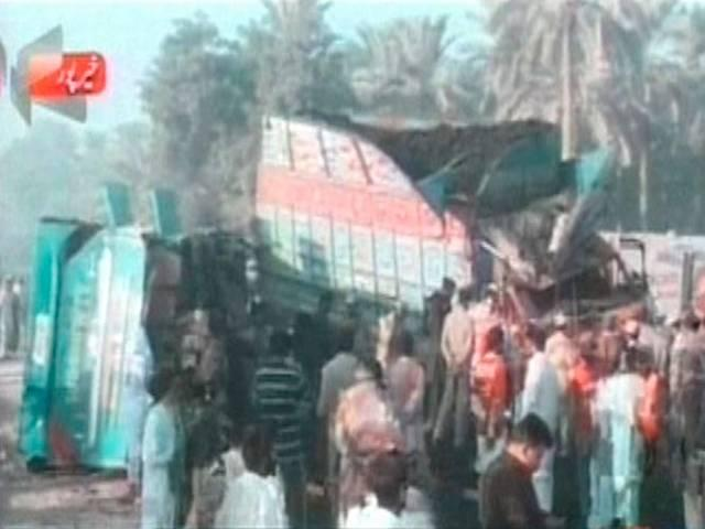 Police: Road Accident in South Pakistan Kills 58