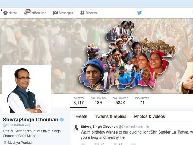 shivraj singh chauhan tweet and after effects