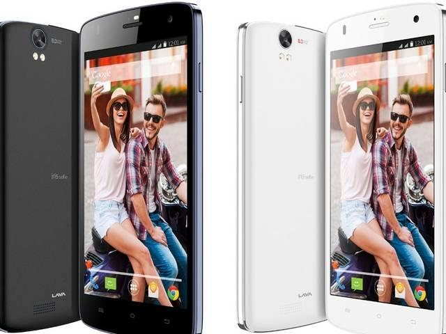 Lava has launched smartphone selfie focued