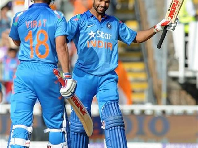 shikhar dhawan on number five in one day ranking