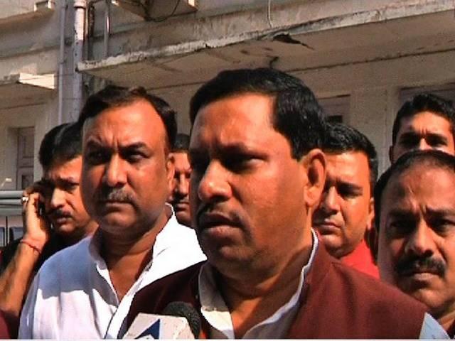 minister Ram Shankar Katheria accused of forging his graduation marksheet